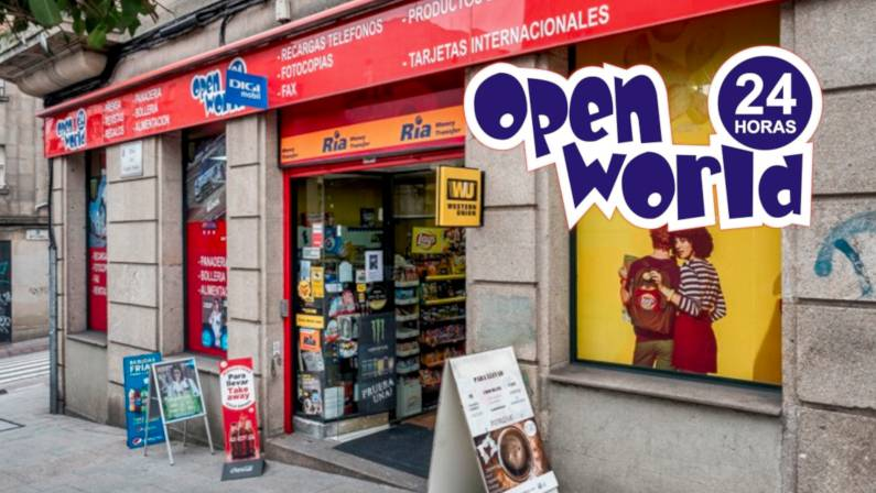 Open World Vigo Tienda 24 Horas   Reportaje