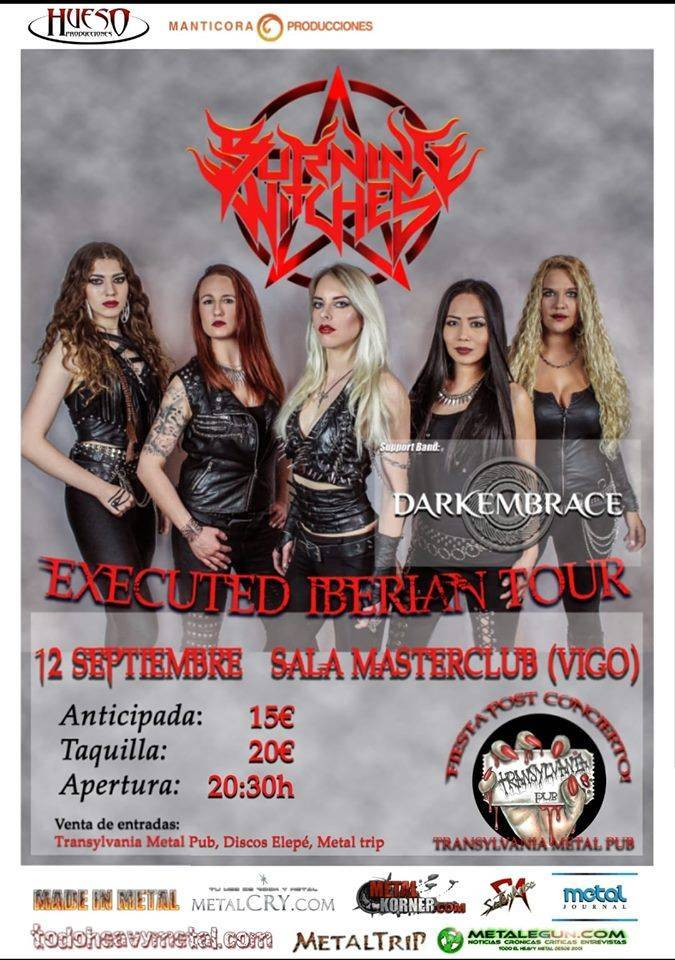 Burning Witches en Vigo