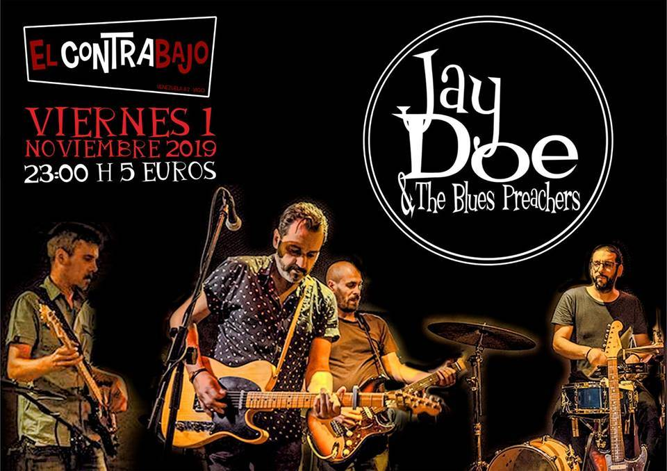 The Blues Preachers en Vigo
