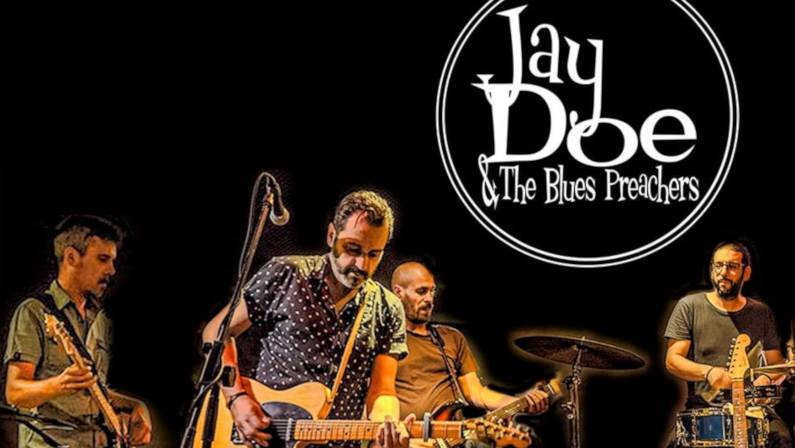 Concierto de Jay Doe & The Blues Preachers en Vigo