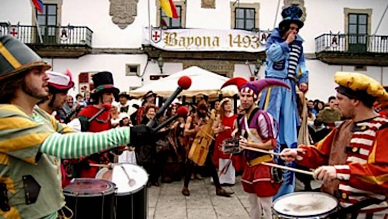 Fiesta Medieval de la Arribada de Baiona