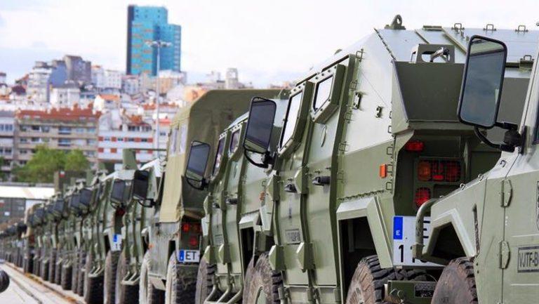 El Ejército se despliega en Vigo   Estado de Alarma por COVID19