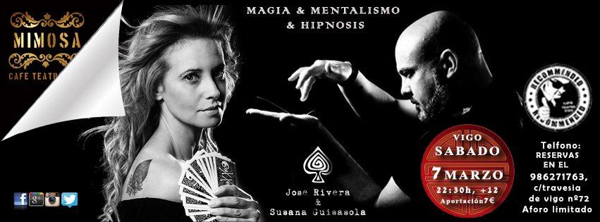Noche de Mentalismo con José Rivera y Susana Guisasola