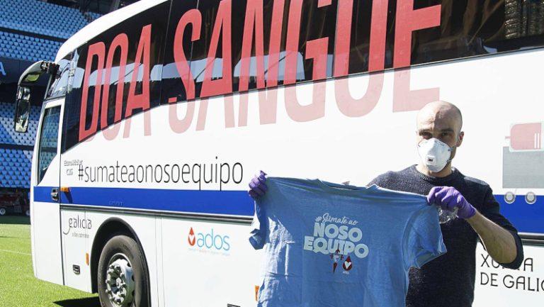 Covid-19 en Vigo | Convocatoria de Donación de Sangre en Balaídos