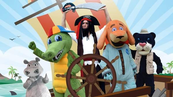 La Amenaza del Pirata Barbanegra | Musical Infantil Online