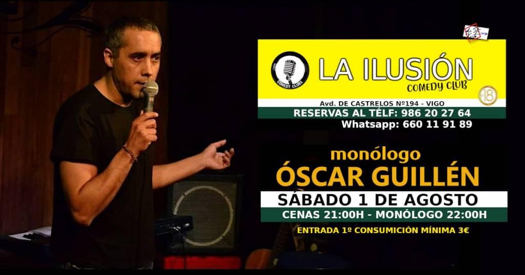 Vigoplan   Oscar Guillen Monólogo Vigo La Ilusion