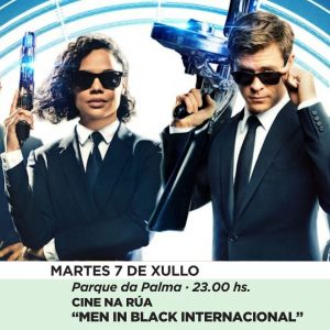 Vigoplan | Cine Al Aire Libre Men In Black Internacional Baiverán