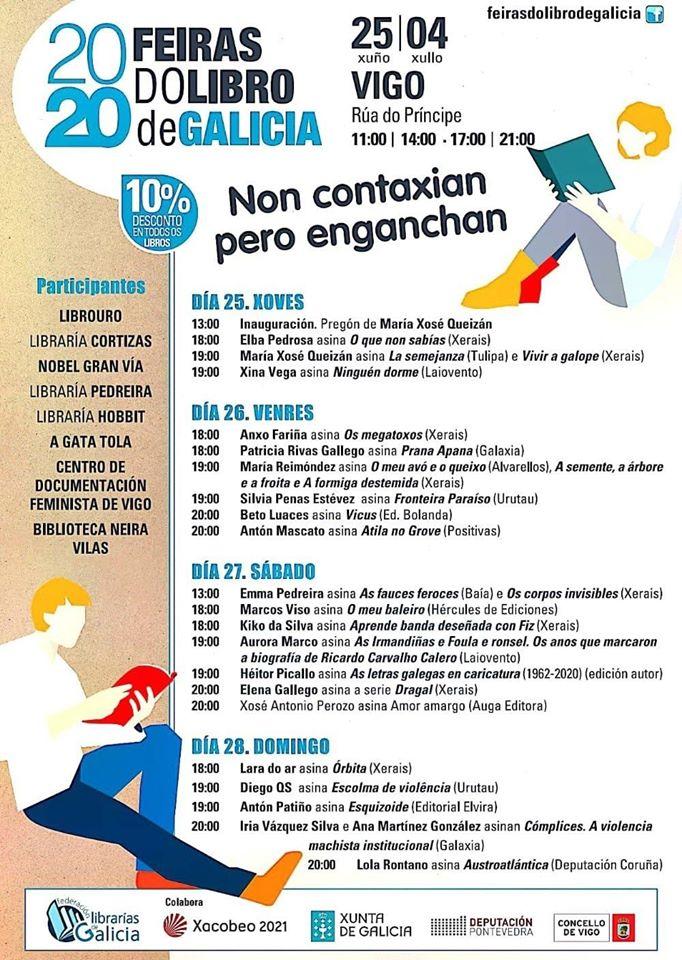 Vigoplan | Feria Del Libro De Galicia