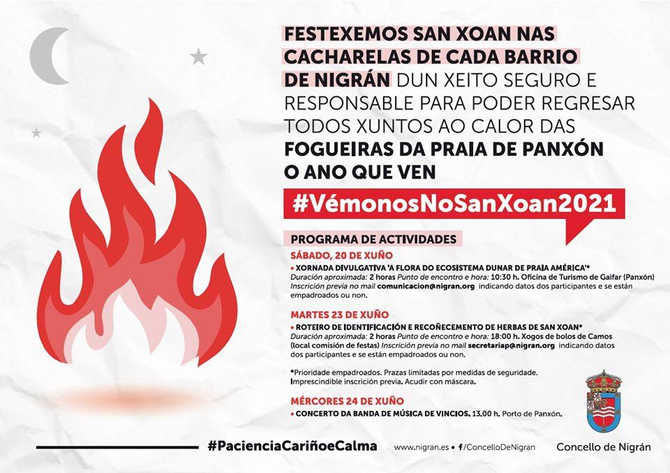 Vigoplan   Fiesta De San Juan 2020 Nigran