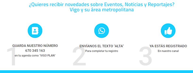 Vigoplan | Vigoplan Vigo Notificaciones Servicio de Alertas por Whatsapp