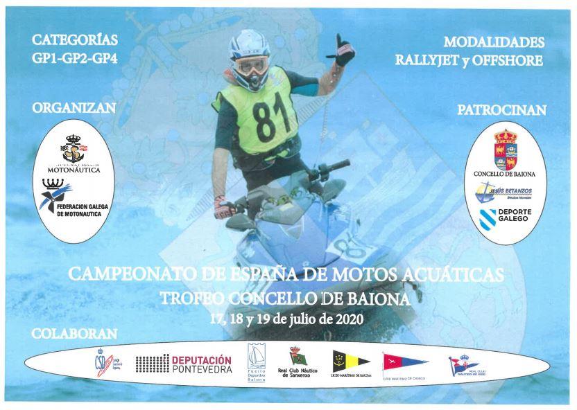 Vigoplan | Campeonato De España De Motos Acuáticas Trofeo De Baiona
