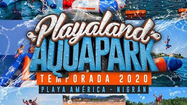 Parque Acuático Hinchable más grande de Galicia vuelve a Nigrán |Playaland Aquapark