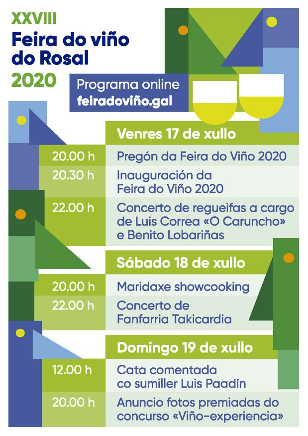 Vigoplan | Programa Feira Do Vino Do Rosal