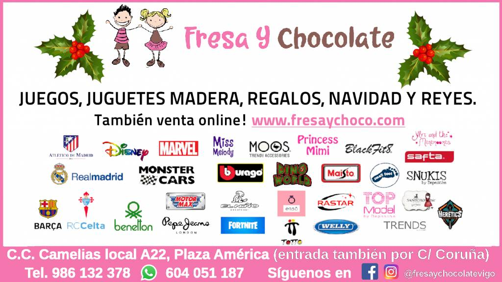 Vigoplan | Fresa Y Chocolate