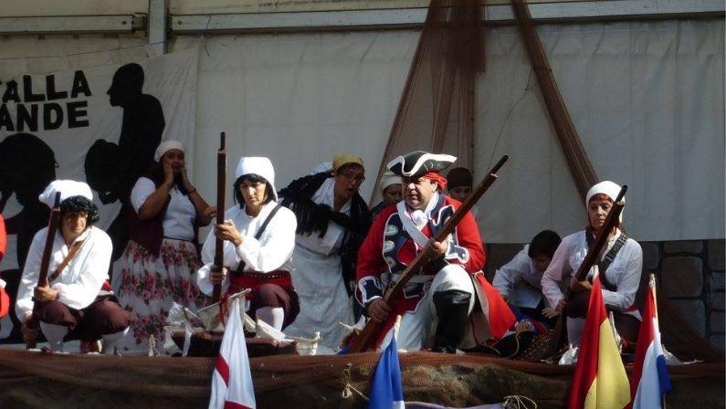 Batalla de Rande | Fiesta en Redondela
