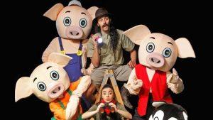 Vigoplan | Os Tres Porquiños Teatro Redondela