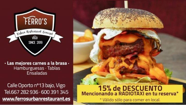 Lee más sobre el artículo Ferro´s Urban Restaurant Concept, entérate cómo conseguir un descuentazo en sus hamburguesas