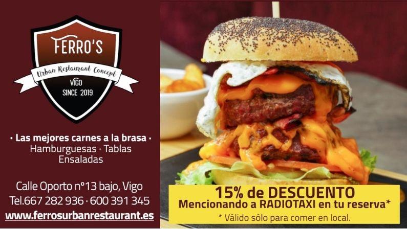 Ferro´s Urban Restaurant Concept, entérate cómo conseguir un descuentazo en sus hamburguesas