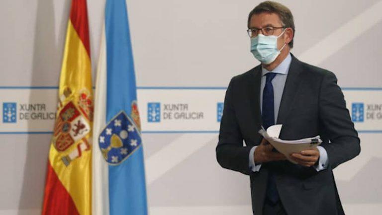 Lee más sobre el artículo Feijóo anuncia el cierre del 60% de Galicia