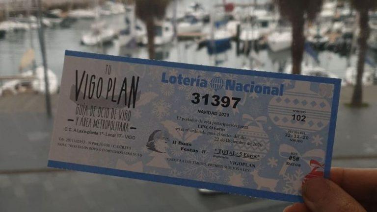 ¿Aún no tienes tu décimo de Vigoplan para el sorteo de la lotería de Navidad?