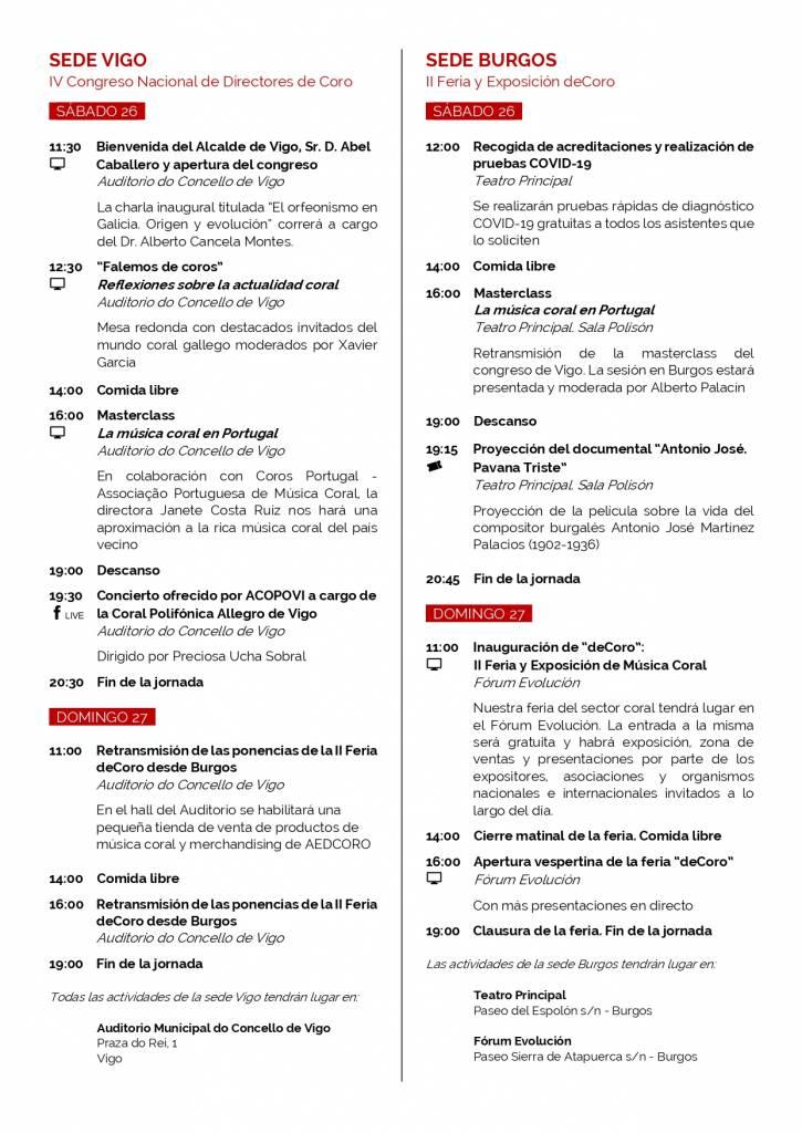 Vigoplan | Iv Congreso Nacional De Directores De Coro