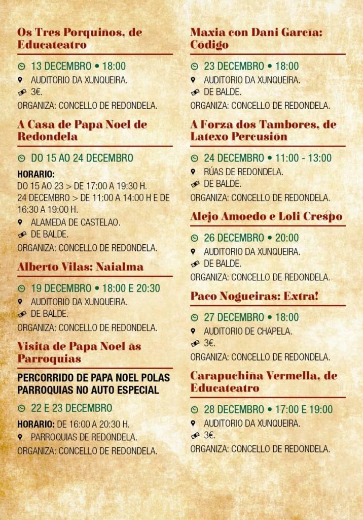 Vigoplan   Programa Cultural De Navidad 1