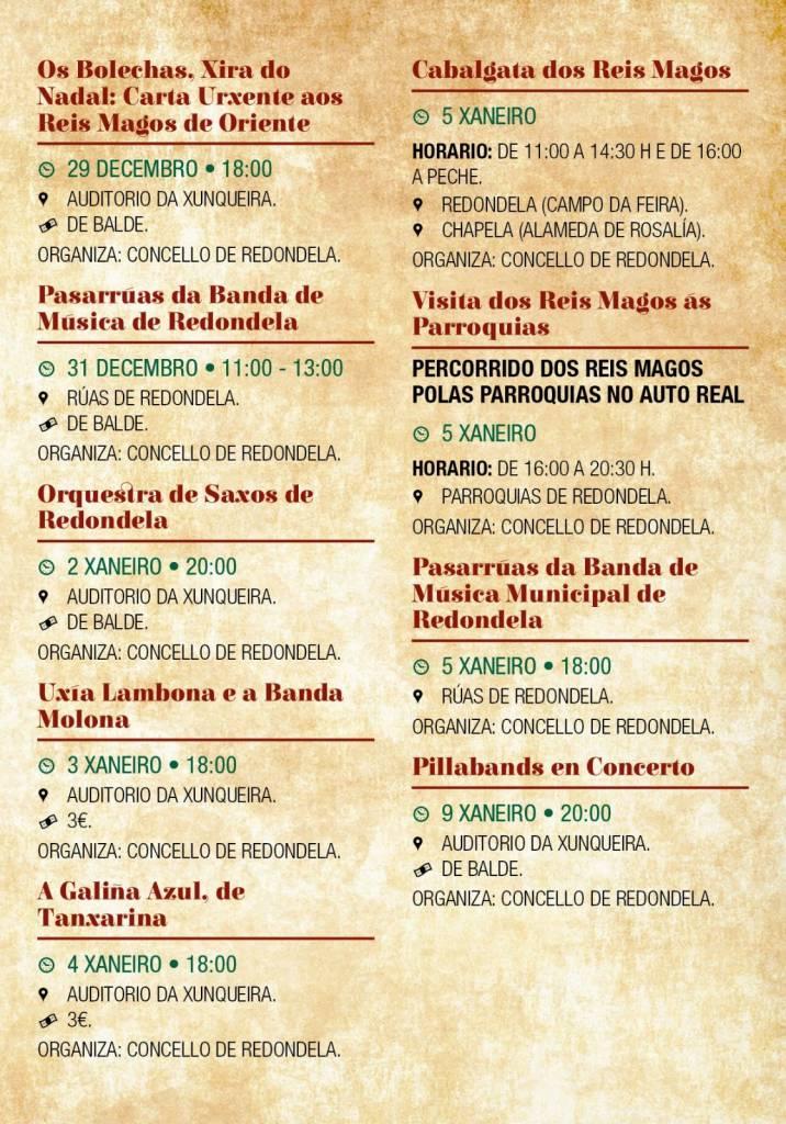 Vigoplan   Programa Cultural De Navidad