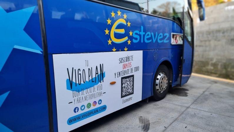 Vigoplan | Autobuses Estevez Avión Y Vigoplan Invaden La Ciudad 2