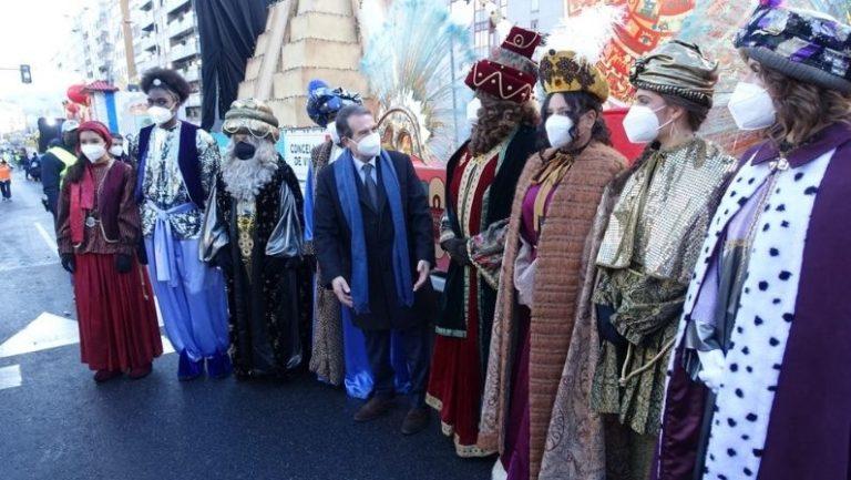 El alcalde de Vigo no falta a su cita con los Reyes Magos
