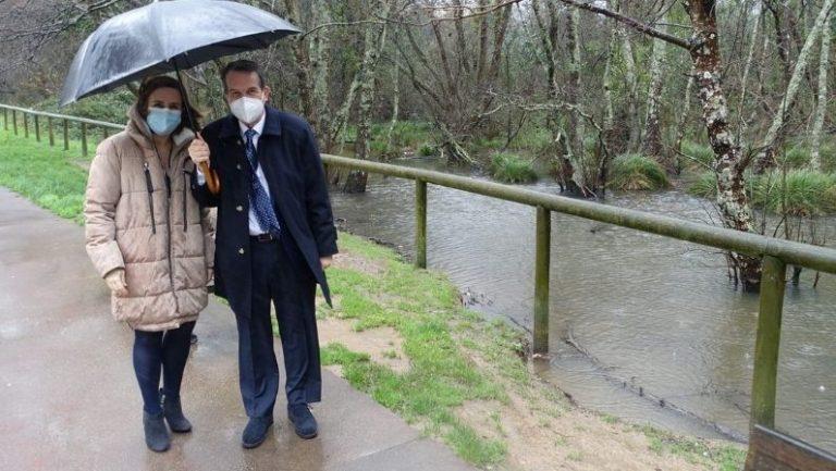 Abel Caballero: «Vamos a duplicar las zonas verdes de la ciudad de Vigo»