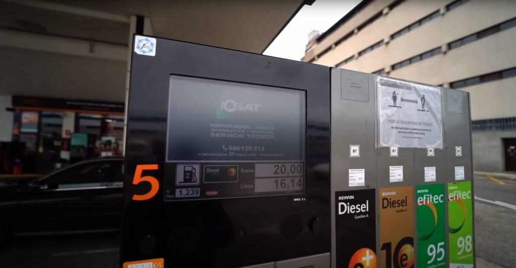 Vigoplan | Publicidad Gasolinera Vigo Plan