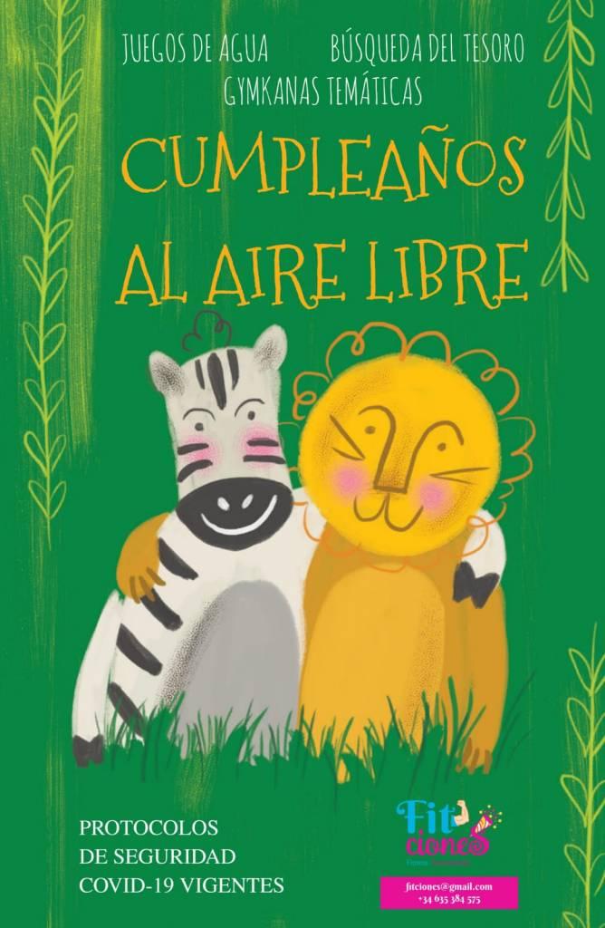 Vigoplan   ¡cumpleaños Al Aire Libre Con Fitciones!
