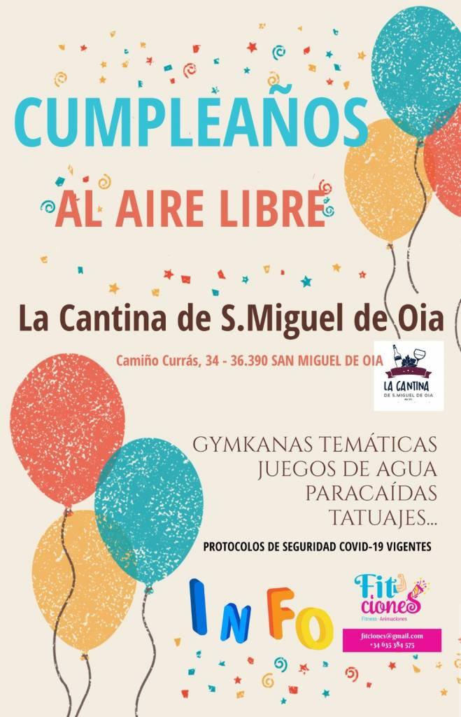Vigoplan   Cumpleaños Al Aire Libre San Miguel De Oia