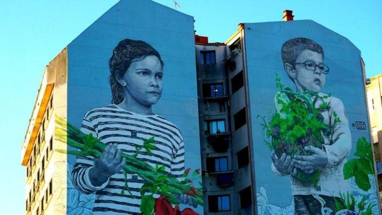Lee más sobre el artículo Paseos por los murales de Vigo | Arte urbano
