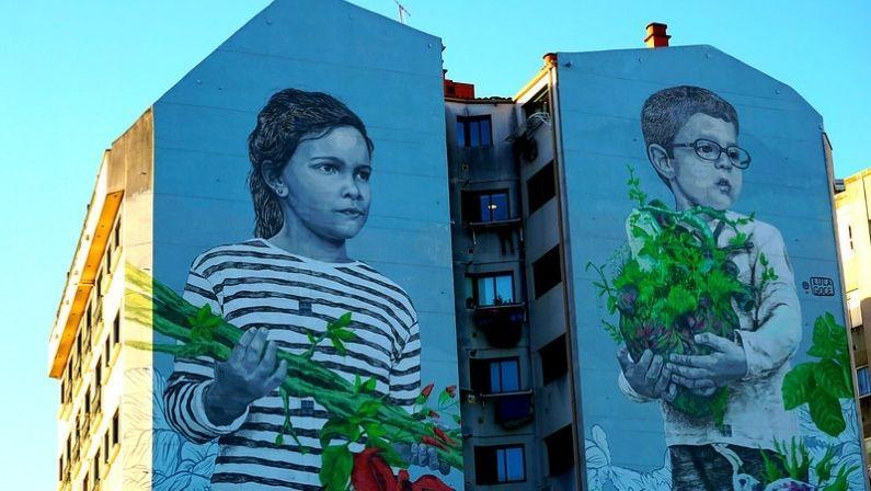 Paseos por los murales de Vigo | Arte urbano