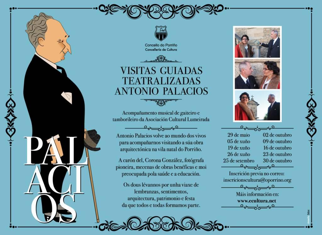 Vigoplan | Visitas Guiadas Teatralizadas Por La Obra De Antonio Palacios
