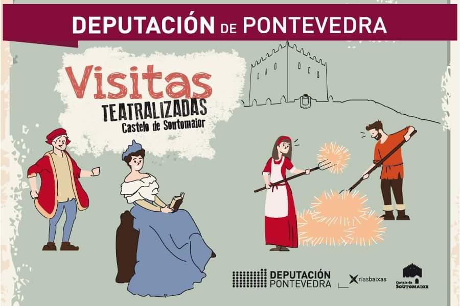 Vigoplan   Visitas Teatralizadas   Castelo De Soutomaior