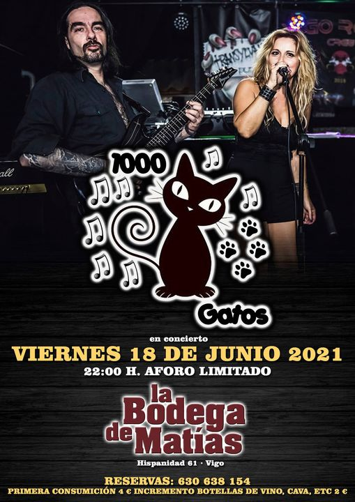 Vigoplan   1000 Gatos Metal Band 2021
