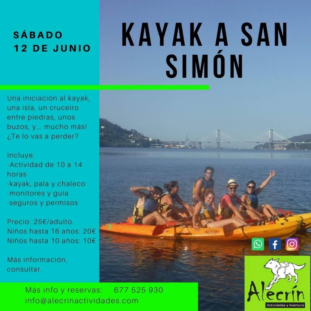 Vigoplan   Paseos En Kayak De La Mano De Alecrín 2