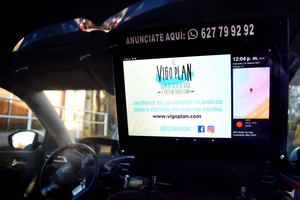 Vigoplan | Pantallas En Taxis Vigo Plan