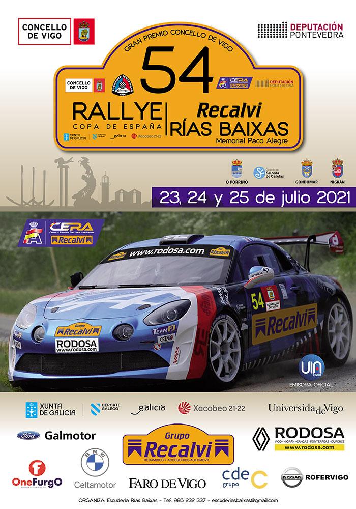 Vigoplan | 54 Rallye Recalvi Rías Baixas | Concello De Vigo