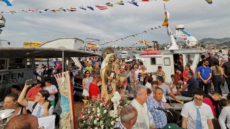 Lee más sobre el artículo Fiesta de Coruxo 2021 en Honor a la Virgen del Carmen