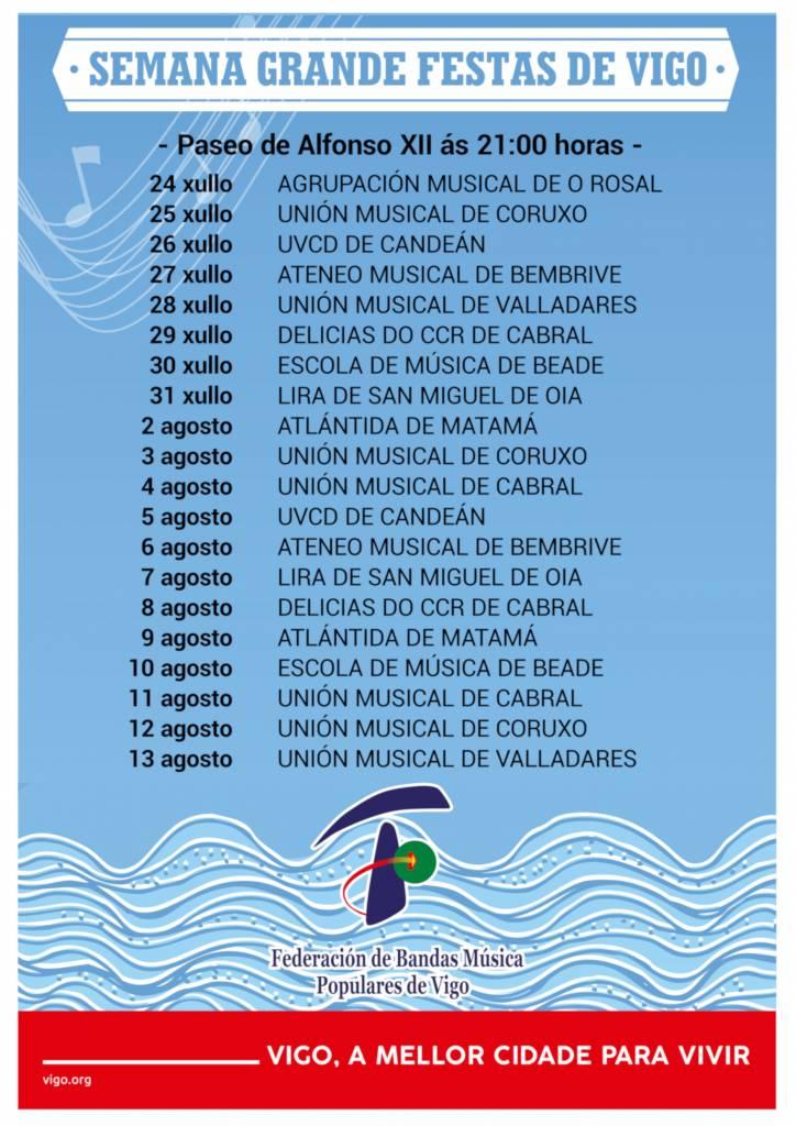 Vigoplan | Vigo Un Mar De Bandas Semana Grande De Vigo 2021