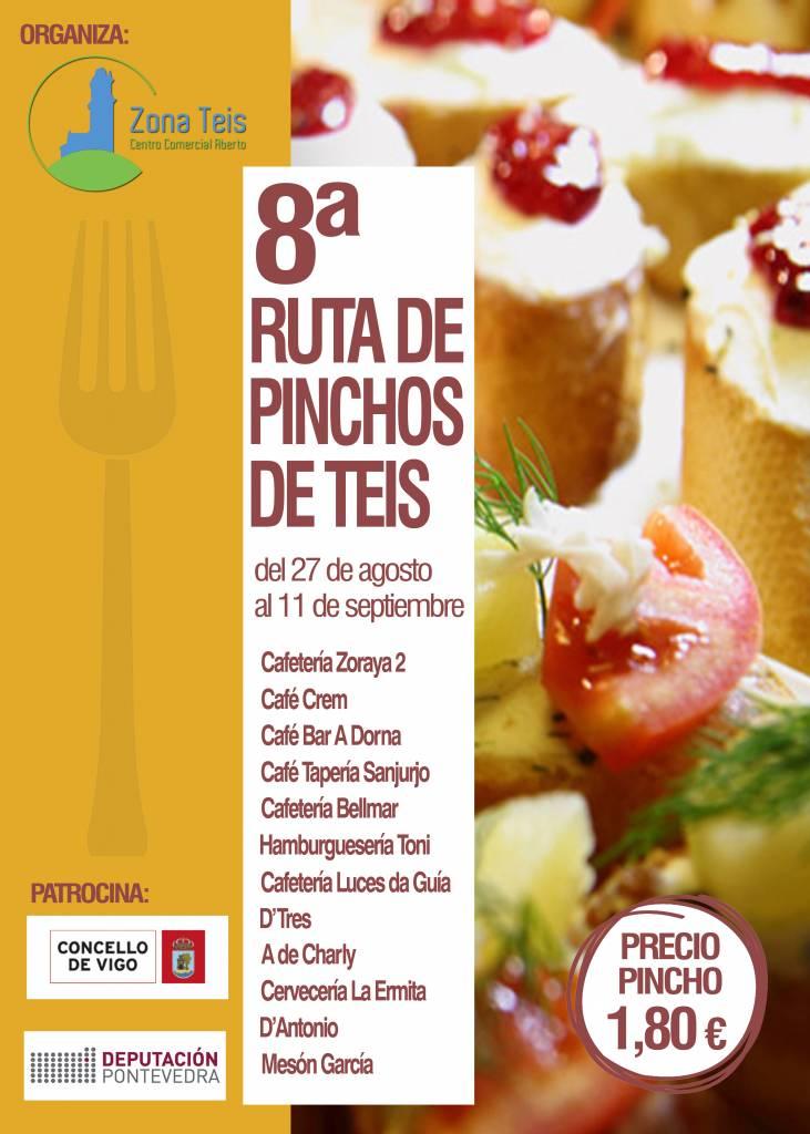 Vigoplan | Cartel Ruta Pinchos Teis
