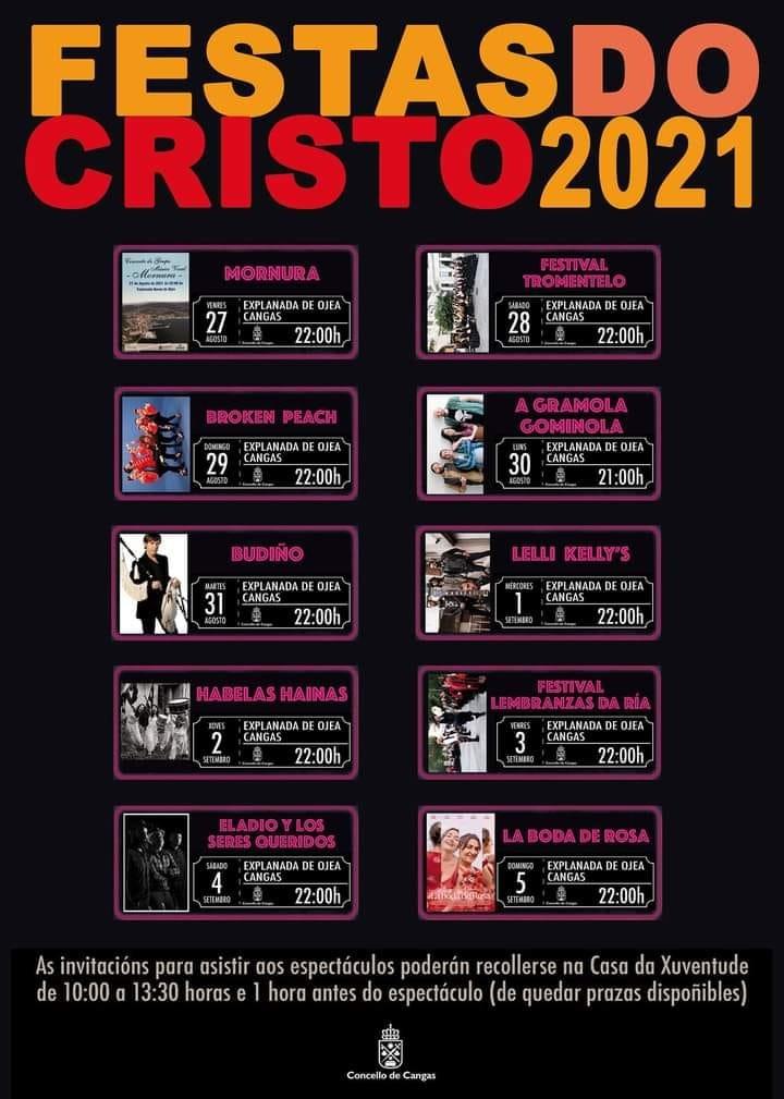 Vigoplan   Festas Do Cristo 2021   Concello De Cangas