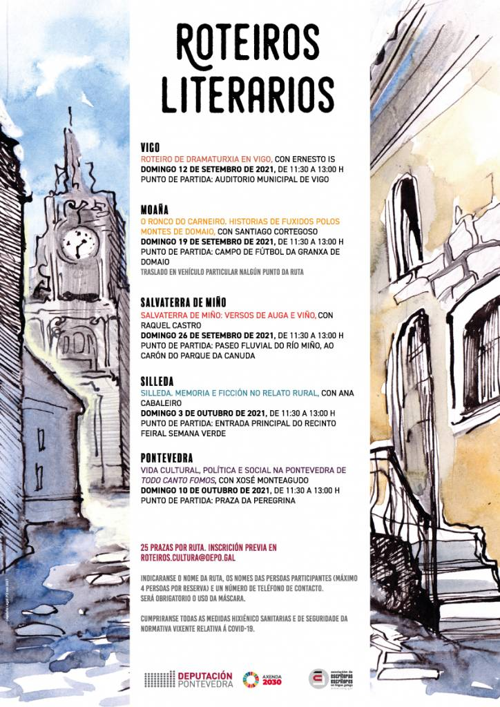 Vigoplan   Roteiros Literarios Por La Provincia De Pontevedra
