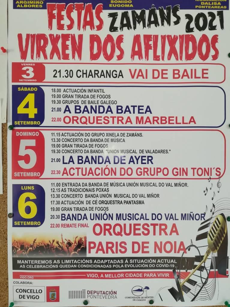 Vigoplan | Virxen Dos Aflixidos | Festas De Zamáns 2021